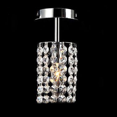 1 pcs Size W10cm*H22cm High quality Fashion K9 crystal and modern Mini LED wall lamp easy hanging corridor LED crystal wall lamp(China (Mainland))