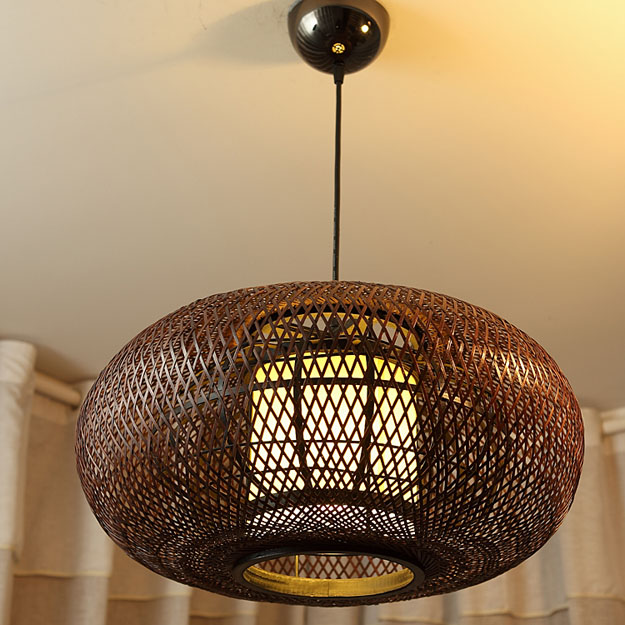 Lamps Bird Nest Pendant Light New Chinese Style Living