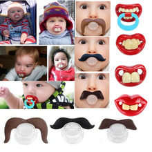 1Pcs Brand New Novelty Teeth Children Child Soother Baby Funny Dummy Prank Pacifier Nipple Nipples Lips Strengthening(China (Mainland))