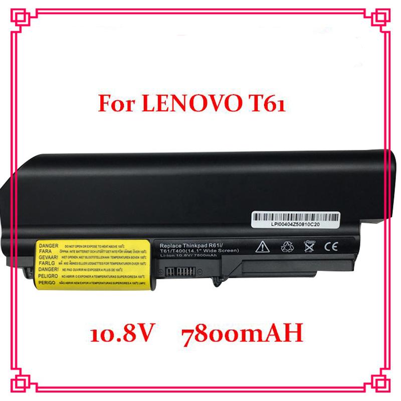 9 Cells 7800mah 10.8V Laptop Battery 41U3196 41U3198 ASM 42T5265 For IBM lenovo ThinkPad R400 T400 R61 R61i T61 T61p(China (Mainland))