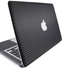 Black Sticker Carbon Fiber Full Sticker for apple macbook air 11 Skin Case Model for A1370 A1465 Laptop Protection Vinyl Decal(China (Mainland))