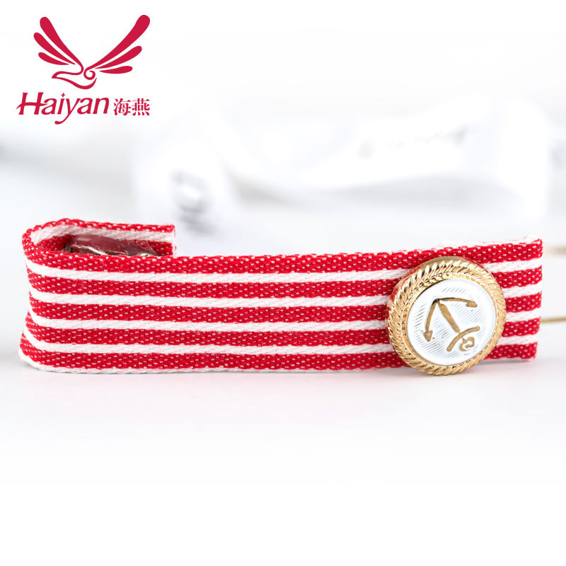 Adult Striped Cotton Barrettes Fashion Women Hairband Accessories 2015 New Arrival Direct Selling Korea Hairpin Clip Hair(China (Mainland))