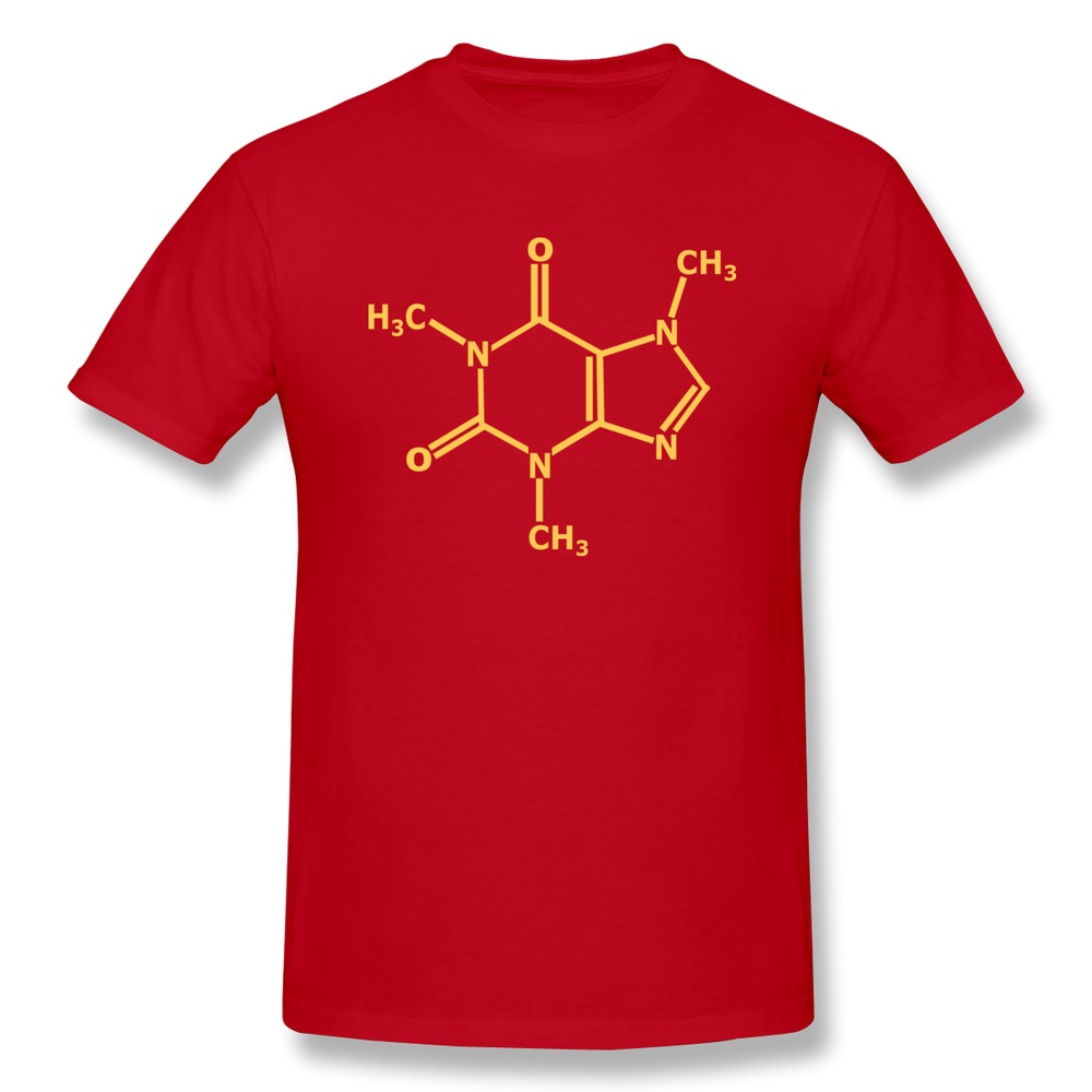 Wholesale 100 cotton t shirt men s chemical equation geek for Design tee shirts cheap