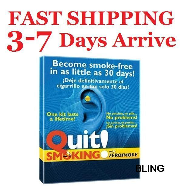 200sets/lot Stop Smoking Pad Patch Health Care Ear Retail Pkg Free TNT Fedex Shipping Wholesale As Seen On TV US(China (Mainland))