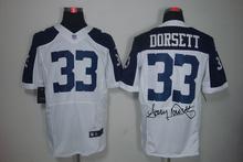 2016 elite Men Dallas Cowboys signature # 82 Jason Witten 22 Emmitt Smith(China (Mainland))