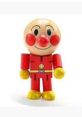 wood Anpanman Educational Parent-child interaction Action & Toy Figures 8cm wooden toy furniture for doll for children hot toy(China (Mainland))