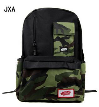 VANS 2015 new fashion shoulder bag shoulder bag backpack tide hit color skateboard brand school bag canvas bag - free shipping(China (Mainland))
