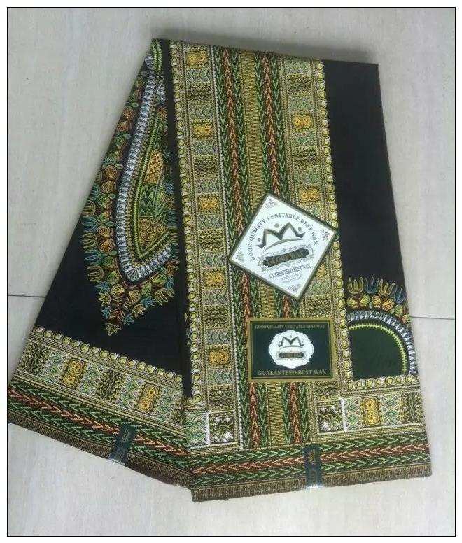 Nigerian Dashiki wax  prints  african fabric  real batik super wax hollandais 100% cotton for bags/ women dress