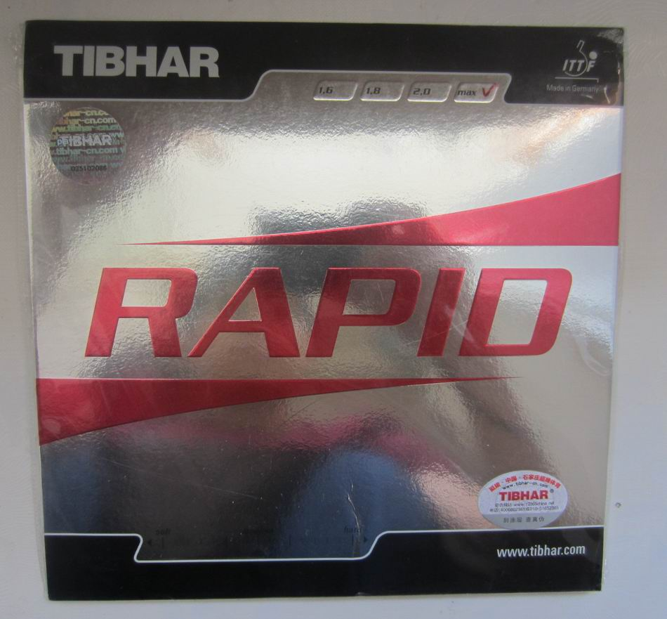 Original Tibhar RAPID pimples in table tennis rubber table tennis rackets racquet sports fast attack loop made in germany(China (Mainland))