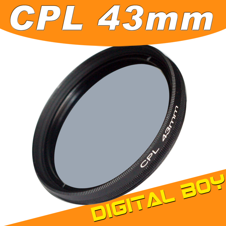 Фильтр для фотокамеры Digital Boy 1 43 CPL c/pl 43mm Canon Nikon Sony Olympus 43mm Polarizing Filter цифровой диктофон digital boy 8gb usb ur08