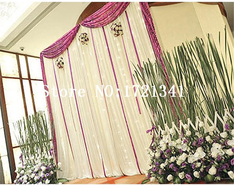 Hot Sale Wedding Backdrop Panel Event Wedding Aluminum Backdrop Stand Pipe Drape Wedding