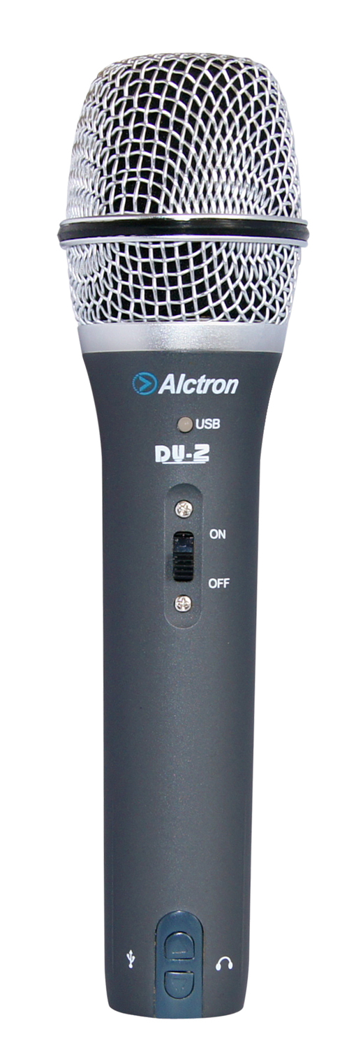 Alctron du-2 dynamic microphone usb recording microphone for computer karaoke(China (Mainland))