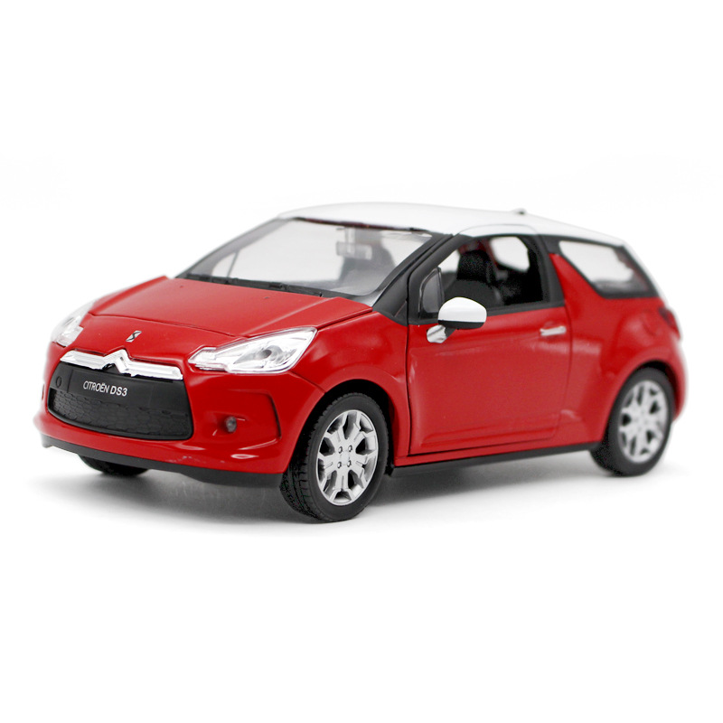 Free Shipping hot sale Wiley WELL/ Citroen DS31:24 simulation alloy toy car model collection kids gifts high simulation(China (Mainland))