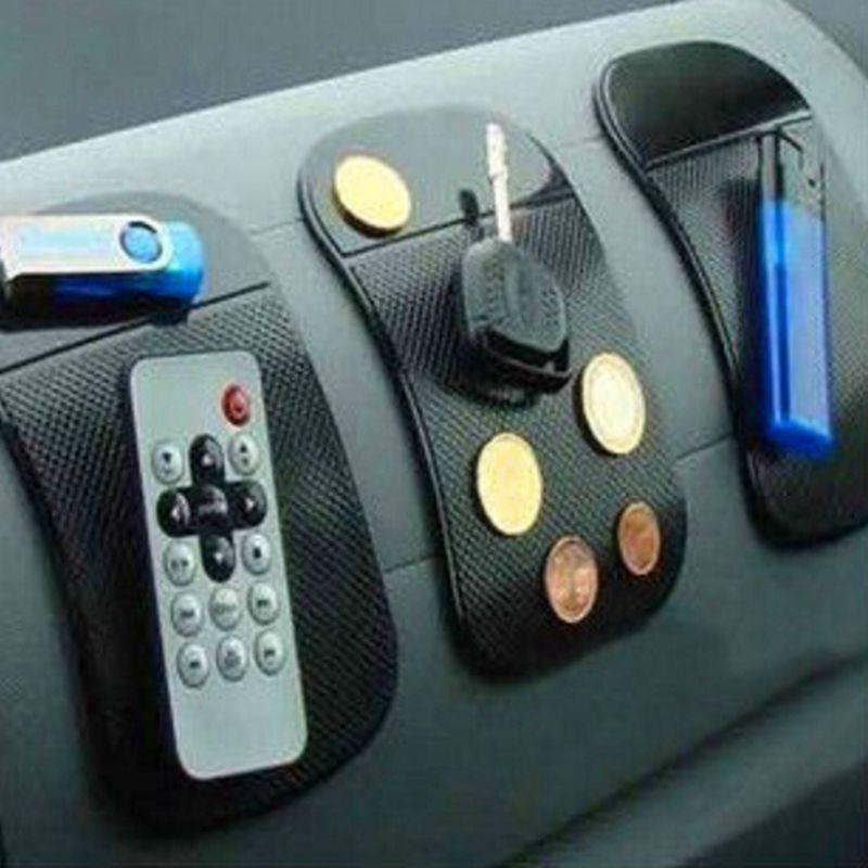 Powerful Silicone Car Anti Slip Mat Magic Non Slip Pad Car Sticker Dash Mat Dashboard Sticky Pad For Phone GPS PDA MP3 MP4(China (Mainland))