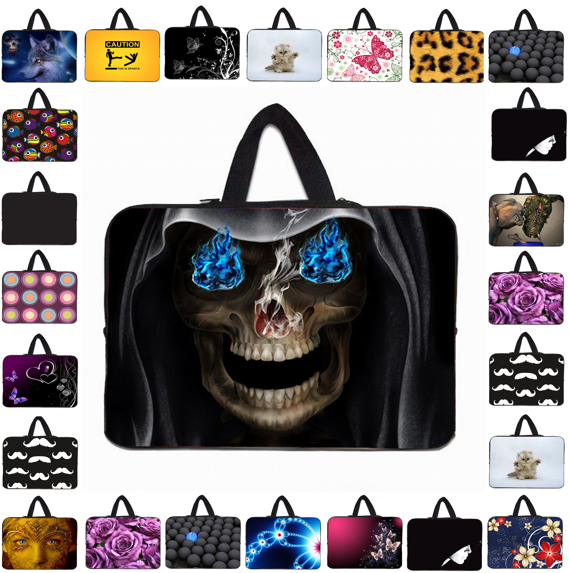 """Many Design 14"""" 14.1"""" 14.4"""" Neoprene Laptop Sleeve Bags Case For Lenovo HP Acer 14"""" Dell 14z Ultrabook Retail Notebook Pouch Bag(China (Mainland))"""