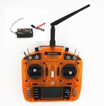 MKron 2.4GHz 8 CH T-i8 Transmitter W/ PostBack fuction,Large LCD Screen W/ MK810 Receiver for HelicoptersQuadcopter(MODE1,MODE2)