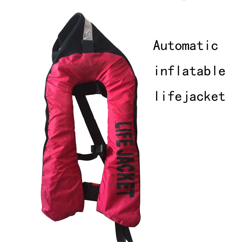 Inflatable lifejacket Fishing Vest Automatic inflatable life jacket PFD for Adult man life-vest more than 150N Buoyancy(China (Mainland))