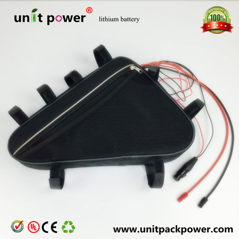 Down tube Triangle bag 48V 20AH electric bike battery with NCR18650PF cells 48v 1000w li-ion battery(China (Mainland))
