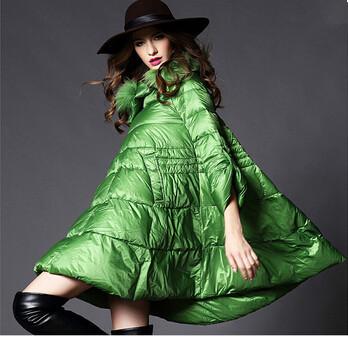 2015 koreaanse stijl grote kragen slanke winter down jas vrouwen jas goedkope winterjassen dames down jas gratis verzending(China (Mainland))