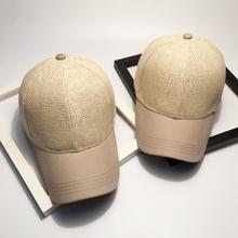 Sport Sunscreen Baseball Cap Fitted Golf Hats Outdoor Summer Beach Topi 100% Straw Handmade Snapback Women Mens Gorras Casquette(China (Mainland))