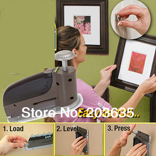 drop shipping instant wall picture hanger nail tool AS SEEN ON TV
