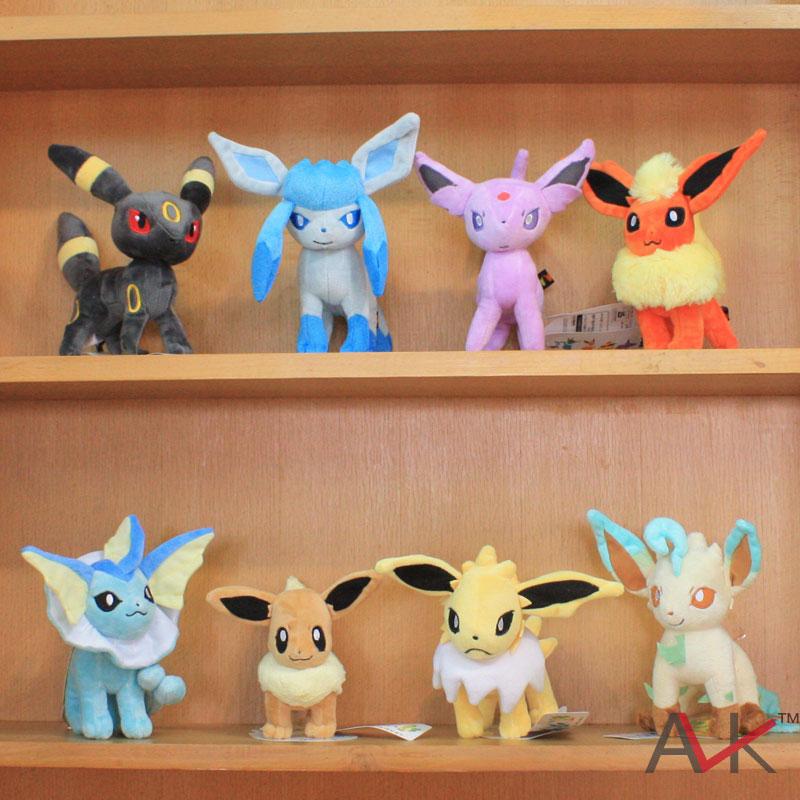 Stuffed animals Pokemon  plush toy doll 8pieces/set<br><br>Aliexpress