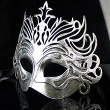 Festive & Party Supplies Antique Halloween Masquerade Party Mask Men Roman Fighter Mask 10pcs/lot