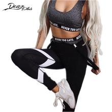 Buy Summer Workout Leggings Women Fitness Pants Printed Sporting Legging Ropa Deportiva Mujer Hot Trousers Legins Push Jeggings for $11.45 in AliExpress store