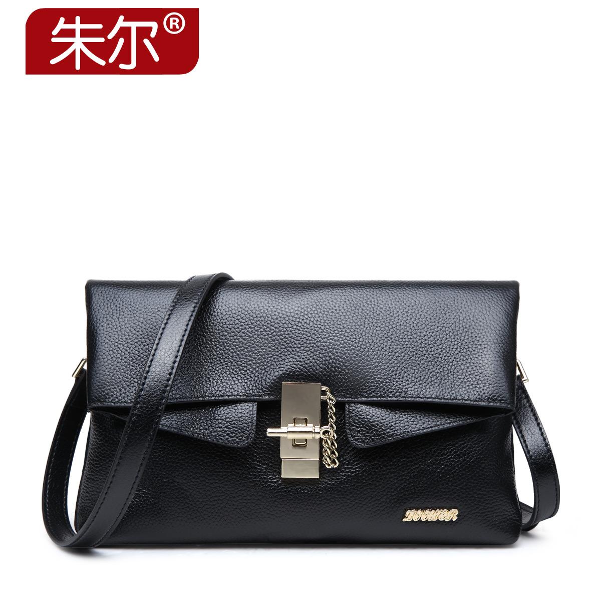 2015 Autumn genuine leather women's handbag clutch fashion ladies bags cowhide messenger bag female
