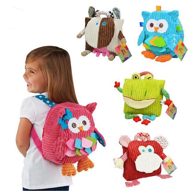 Детское питание мешок хранения Box зоопарк закуски сумки портативный плюшевые мешок детей упаковки продуктов питания для пикника YYT010-YYT014