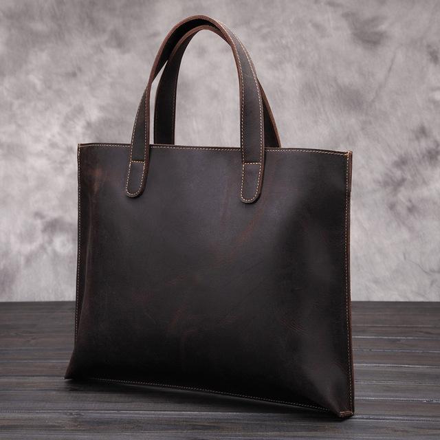 Мужская мода ретро - высокотехнологичной продукции 100% натуральной кожи деловые ...