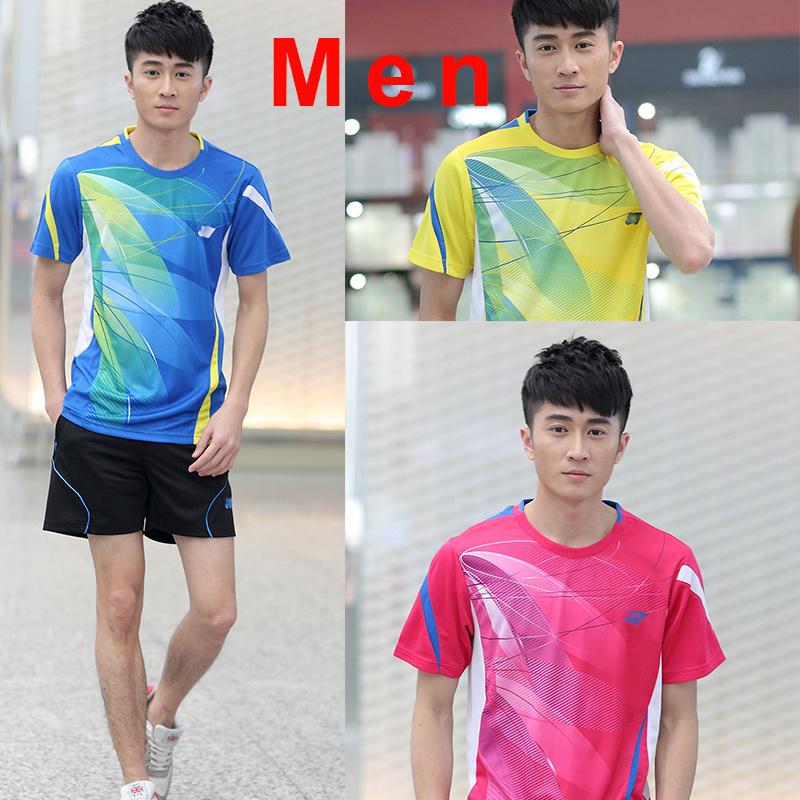 Free printing name, Japan YY brand Badminton clothes Men , Tennis clothes mens , Badminton uniforms , badminton shirt(China (Mainland))