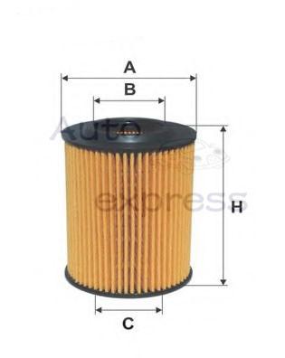 Car Oil Filter For BMW 1 F20 F21 114i 116i 118i BMW3 316i 320i OE 11427635557 Auto Parts Car HU7003X(China (Mainland))
