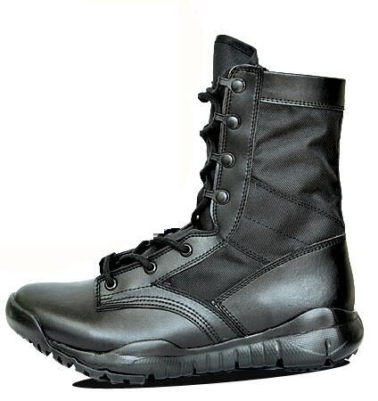 Combat Boots. When it comes to combat boots, you don't have to be in the military to enjoy this rugged look. In fact, military-inspired boots are a great look for casual, relaxed days. Men, women and teens will enjoy the masculine look of a sturdy pair of boots, without feeling like they are ready to fight a battle.