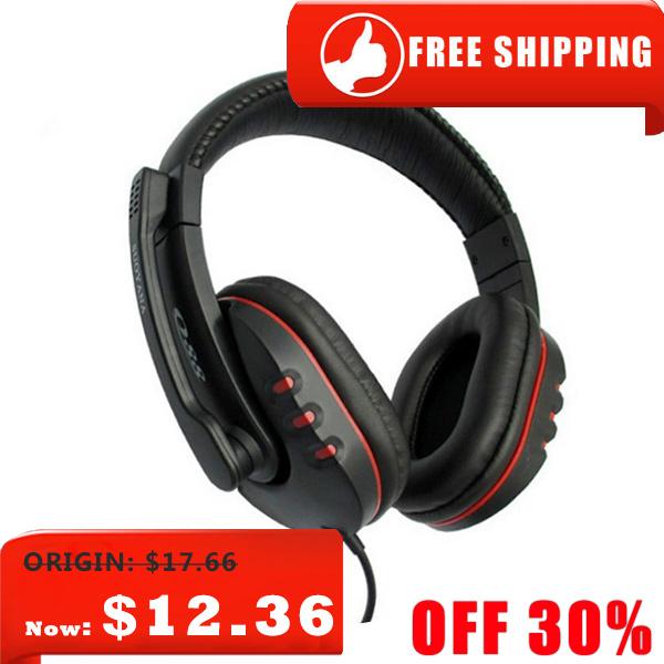Gaming Headset headphone speakers surround gaming stereo bass headphones earphone mic computer game - BevoLink store
