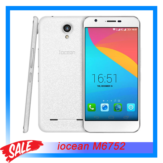 Original Iocean M6752 ROCK 5 5 Android 4 4 Smartphone MT6752 Octa Core 1 7GHz RAM