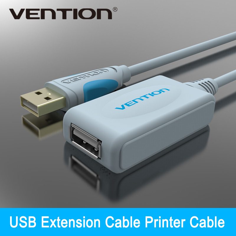 Vention New Arrival Extension Cable 5m 15FT USB 2.0 Type A Male to Type A Female Extension line(China (Mainland))