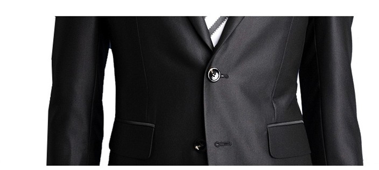 38-Free Shipping New 2015 man suit classic Fashion grooms man suits! Men's Blazer Business Slim Clothing Suit And Pants