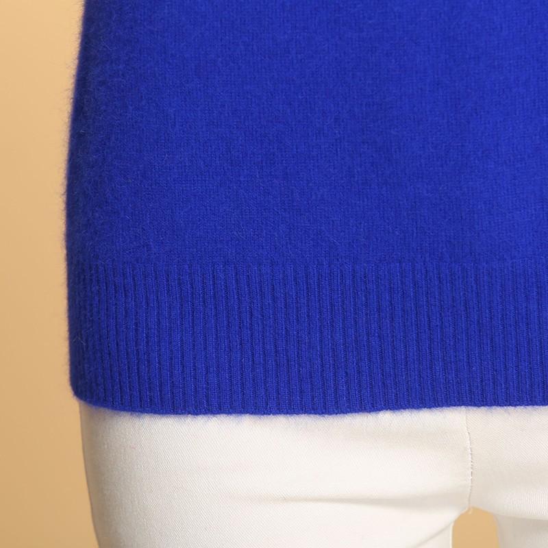 2016 Новых женщин осенью и Зимой высокий Воротник вязать Кашемировый Свитер Тонкий Свитер хеджирования Дна Мягкий Шерстяной пуловер