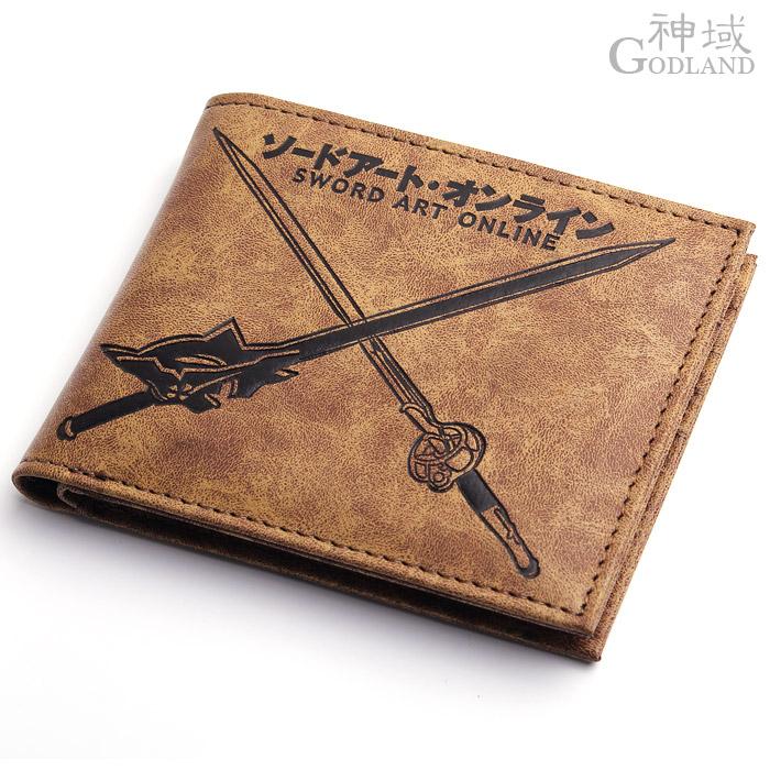 Sword sao wallet eleomargaric blinking light(China (Mainland))