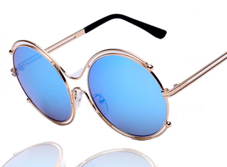 Mens Wire Frame Glasses : Newest Women Brand Designer Elegant Round Wire Frame ...