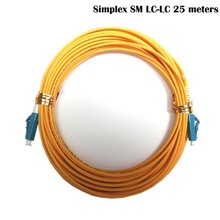 LC-LC fiber connectors patchcord Optical jumper FTTH single mode Simplex 25 meters LC/UPC-LC/UPC-SM-2.0-25m - fmcomm Store store