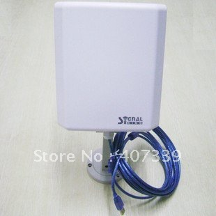Signal King 8TN usb wifi antenna outdoor with directional 20dbi flat panel antenna 150Mbps<br><br>Aliexpress