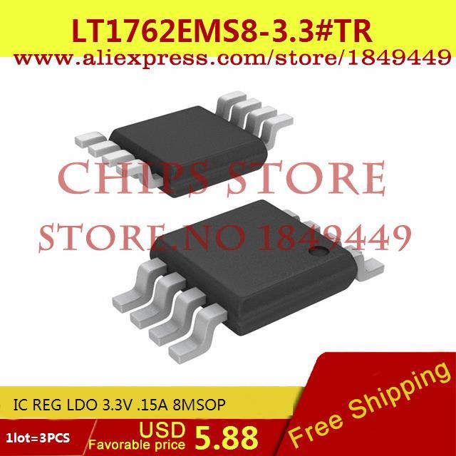 Бесплатная Доставка Интегральные Схемы Типов LT1762EMS8-3.3 # TR IC REG LDO 3.3 В. 15A 8 MSOP LT1762EMS8-3.3 1762 LT1762 3 ШТ. бесплатная доставка интегральные схемы типов lt1762ems8 3 3 tr ic reg ldo 3 3 в 15a 8 msop lt1762ems8 3 3 1762 lt1762 3 шт