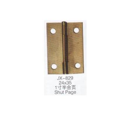 Golden color broadened steel jewelry box hardware folding hinge 24*35 mm adjustable angle(China (Mainland))