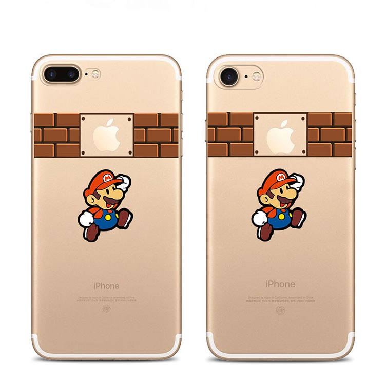 For iPhone7 7Plus 6 6S 6Plus 5 5S SE Case Marios Snow White Homer Simpson Mermaid Ariel Touch Logo Clear Soft TPU Case Capa(China (Mainland))