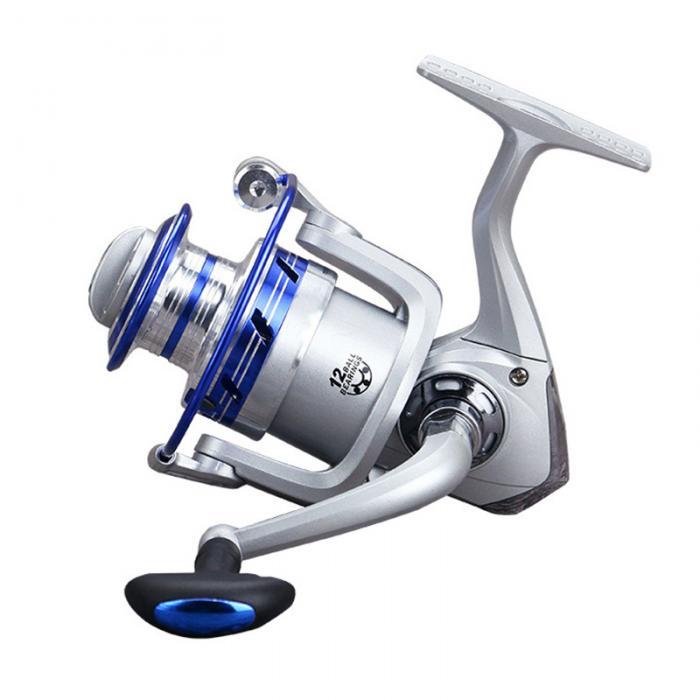 Новый 12BB Шарикоподшипник 5 5: 1 соотношение скорости Металл Рыбалка вращающееся