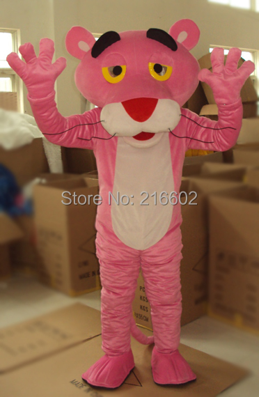 Adult Pink Panther Mascot Costume sales Fancy Dress - mascot trade factory store