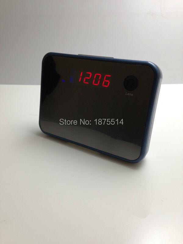 Wireless WiFi IP Clock Camera P2P Camcorder H.264 Invisible Camera Wide-angle view 120 deg Mini DV/DVR(China (Mainland))