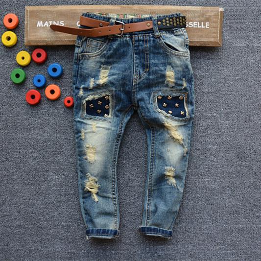 Фото модных детских джинс